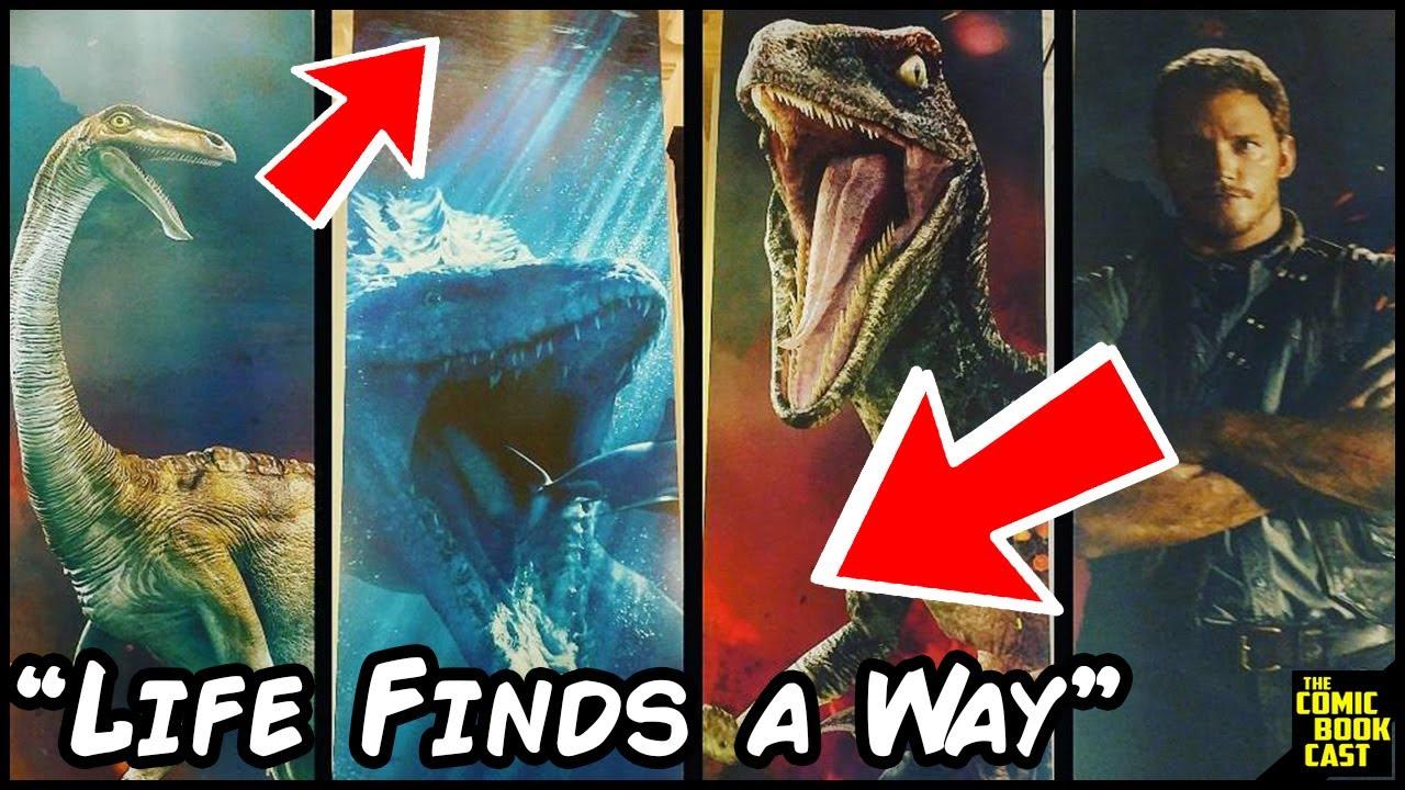 Jurassic World 2 Posters Hint at Major Plotpoint | Comic Binge